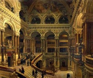 Здание Оперы в Париже изнутри
