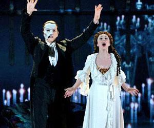Мюзикл «Призрак оперы» привезли в Москву