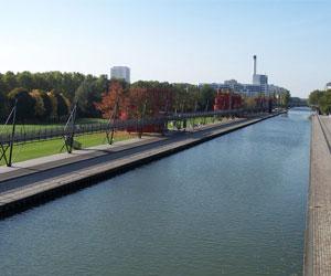 Парк Ла-Виллет и его некоторые достопримечательности