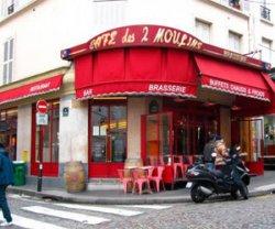 Кафе «Две Мельницы» в Париже
