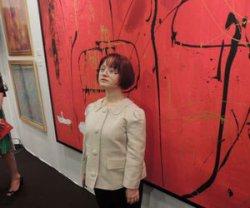 Выставка М. Алекперли в Лувре