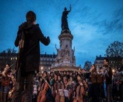 «Ночь без сна» в Париже