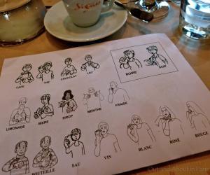 Удивительное кафе Signes
